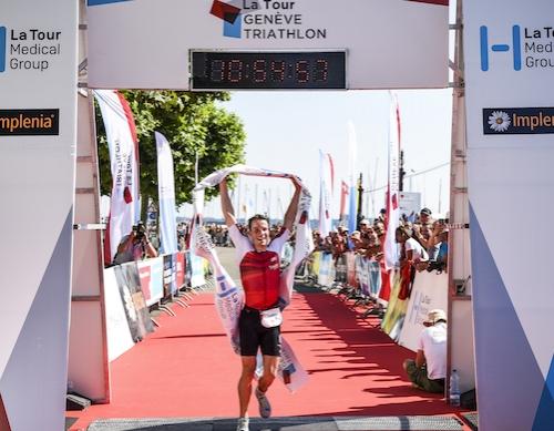 3000 individual victories in a record breaking La Tour Geneve Triathlon