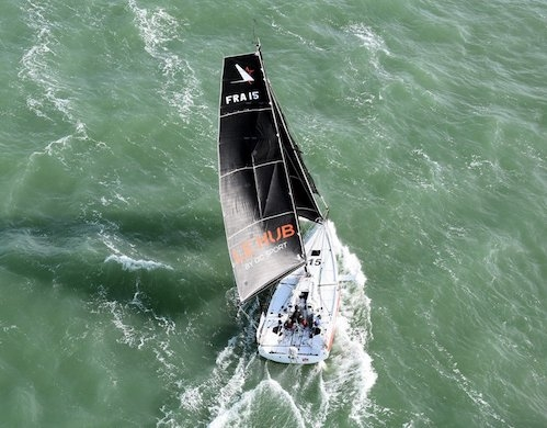 Promising start in the Figaro Bénéteau 3 for Yoann Richomme