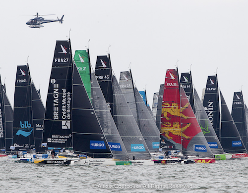 La Solitaire URGO Le Figaro fleet leave France for Kinsale