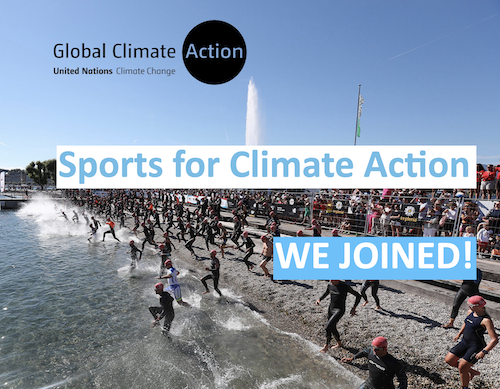 OC Sport joins the Sports for Climate Action Framework