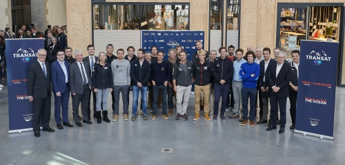 A Very High-Quality Field Set to Start The Transat CIC