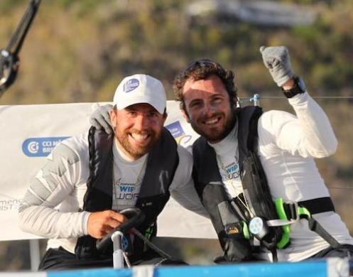 Nils Palmieri et Julien Villion, vainqueurs de la 15e édition : « Elle était pour nous cette Transat en Double ! »