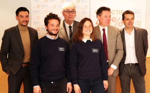 Mutuelle Bleue for l'Institut Carie embark on important sailing sponsorship project with Amélie Grassi and Ambrogio Beccaria for Transat AG2R LA MONDIALE